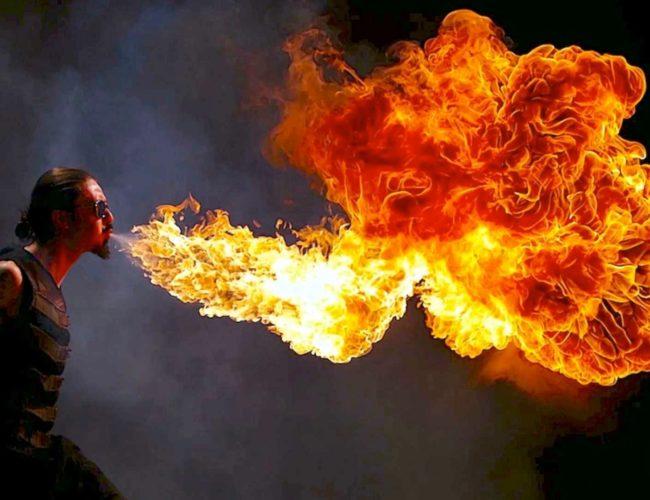 uguns šovi